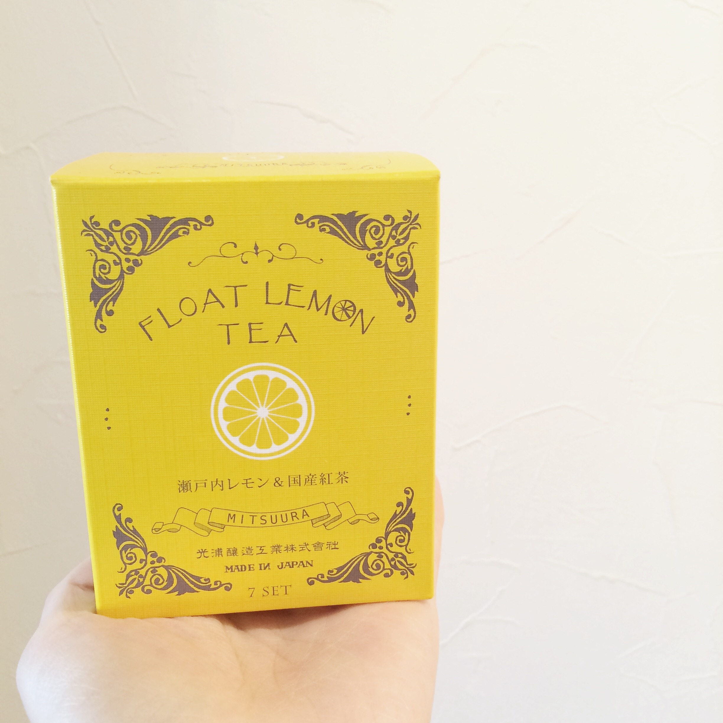 FLOAT LEMON TEA